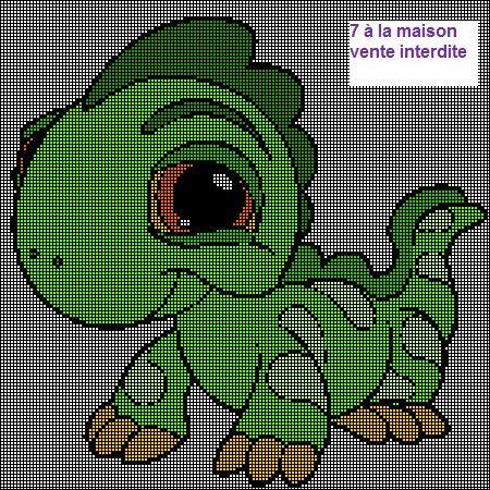 patron tricot gratuit dinosaure