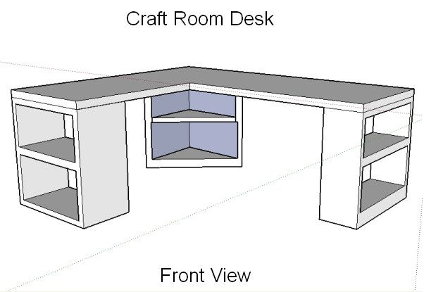 7 best images about craft room on pinterest ikea sewing for Building a craft room