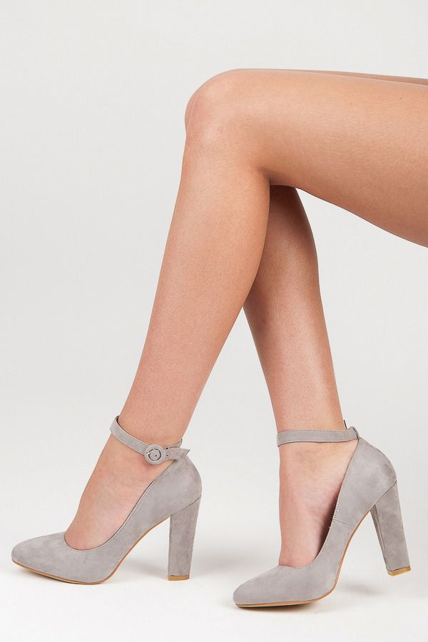 Pumps with stripe Elegant shoes on a comfortable heel. Made of high species suede. Decorative strap around the ankle adds style. They will be a great addition to many spring styling. You will always look beautiful and feminine. https://www.cosmopolitus.com/czolenka-paseczkiem-odcienie-szarosci-srebra-20615g-p-244873.html?language=en&pID=244873 #Womens #shoe #heel #pumps #suede #high #heels #comfortable #spring