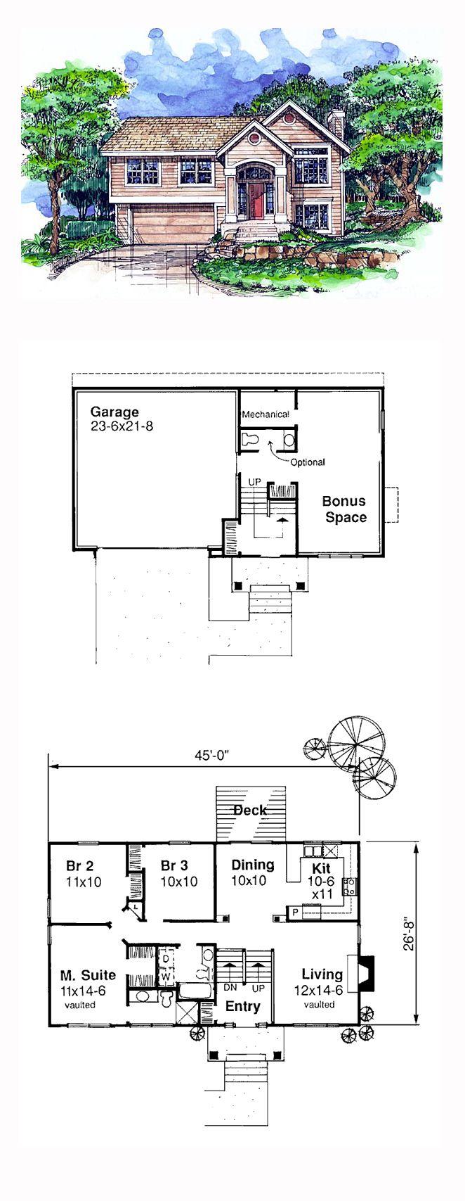 Hillside home plans 10 handpicked ideas to discover in for Hillside home floor plans