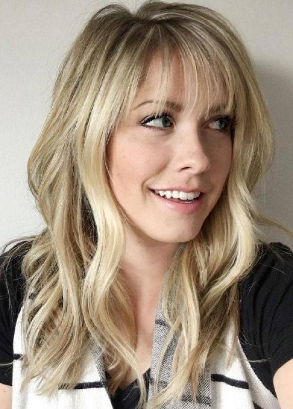Wispy Bangs For Round Faces Glamorous Hair 2016 Shorthairstyles Hair Styles Long Hair With Bangs Hairstyles With Bangs