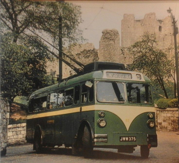Mexbrough trolley at Conisbrough