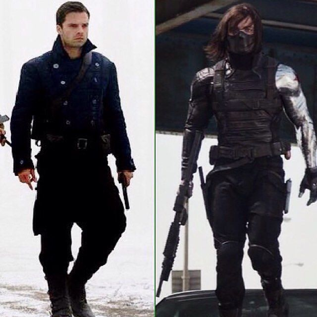 James Buchanan Barnes~The Winter Soldier. One man, two lives, one tragic story.