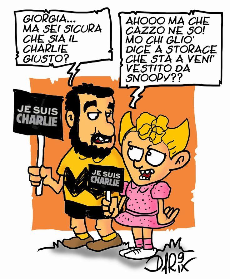 INSERTO SATIRICO: Siamo tutti Charlie Hebdo?