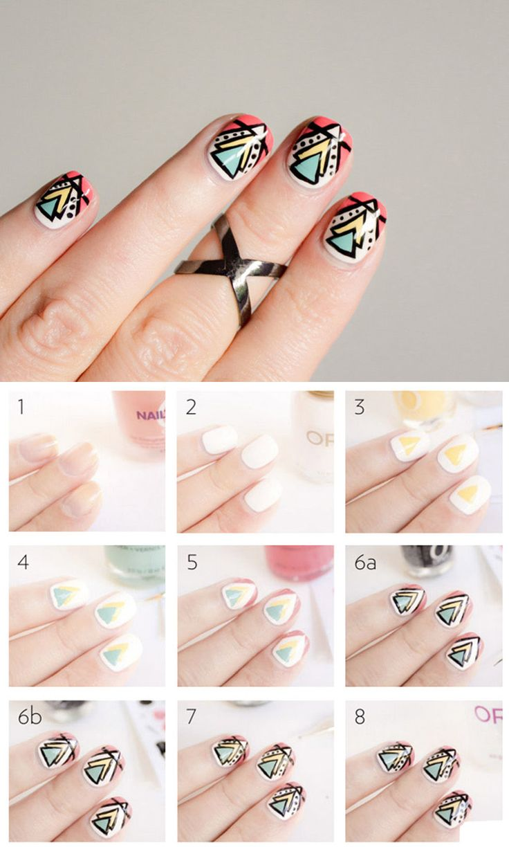 46 best Uñas images on Pinterest | Nail design, Nail decorations and ...