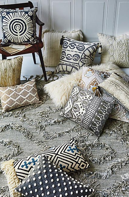John Robshaw Lumah Pillow - anthropologie.com