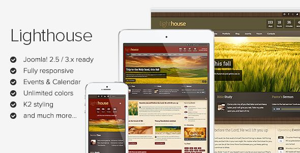 See More Lighthouse - Responsive Joomla Templatetoday price drop and special promotion. Get The best buy