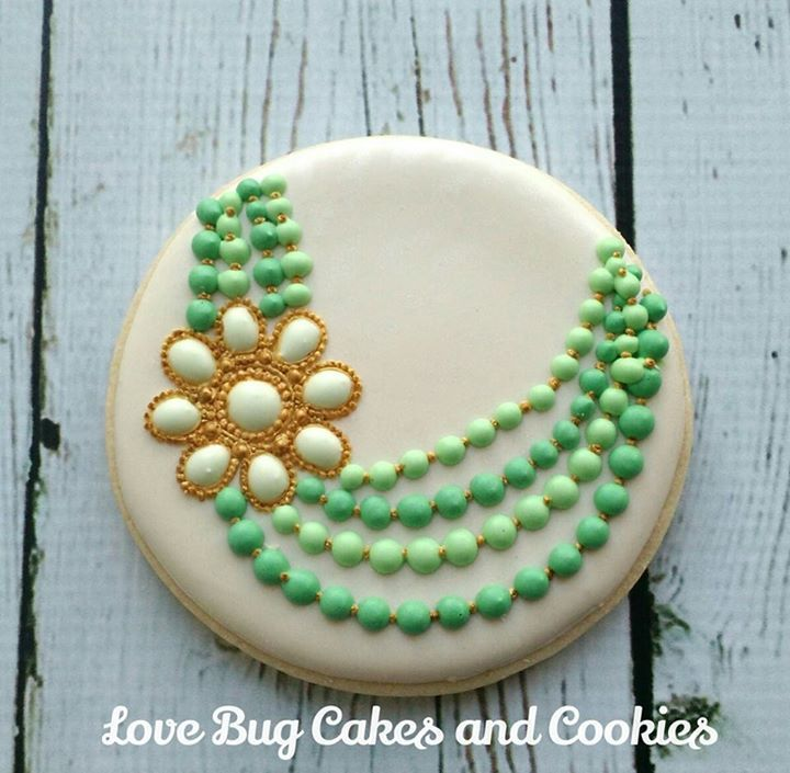 Jewelry Cookies: Love Bug Cookies