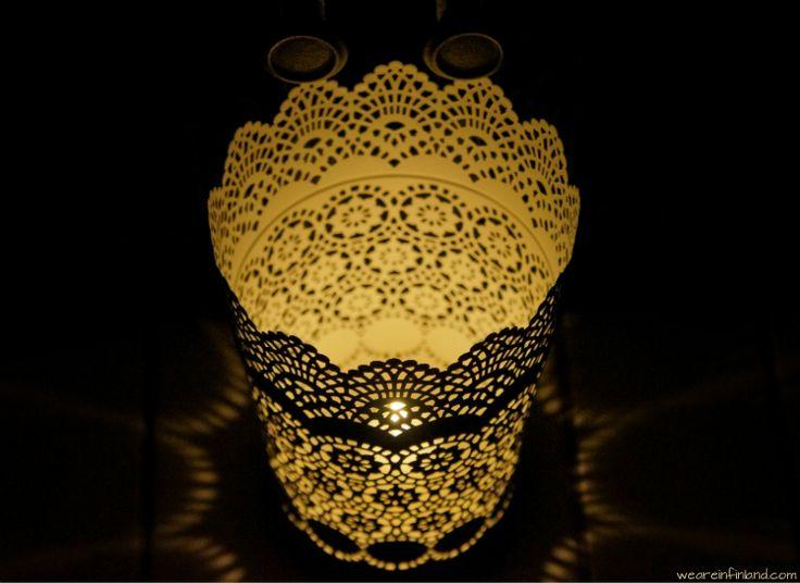 Beautiful candleholder.