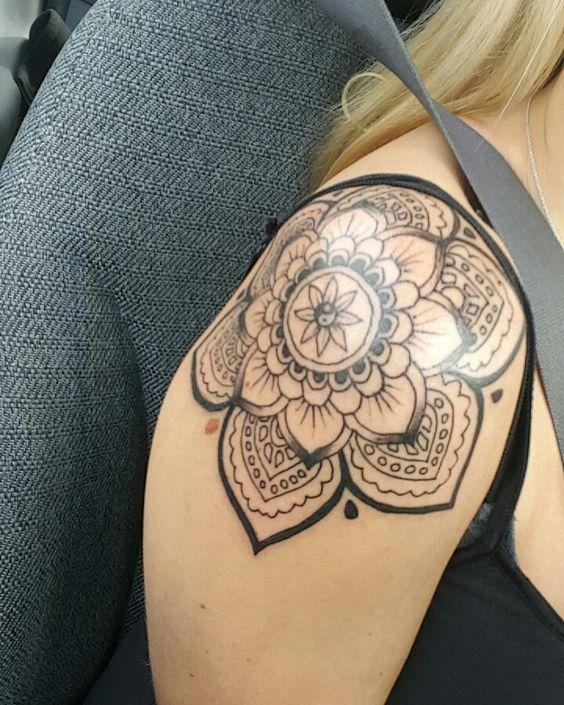107 Tatuajes Mandalas En El Hombro Tatoosnot Tattoos