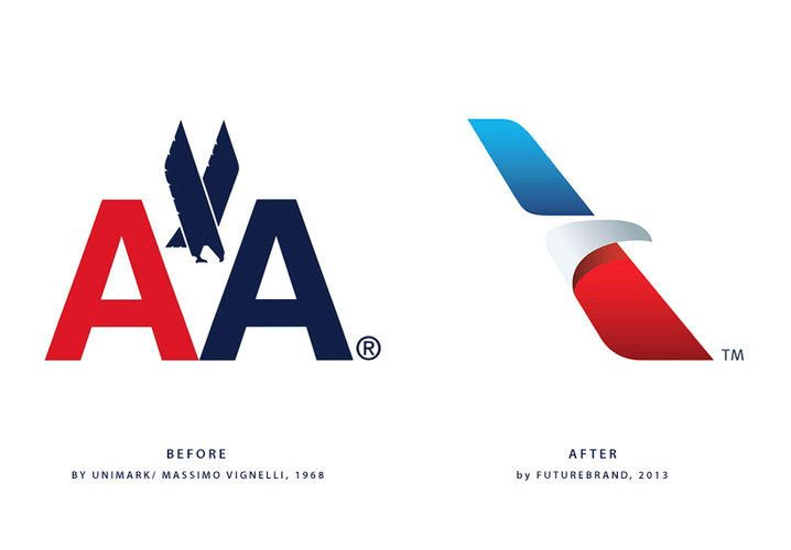 American Airlines new brand identity