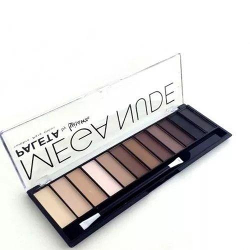 Paleta De Sombra Matte Mega Nude Luisance - R$  Essa paleta possui 12 sombras e 1 pincel de aplicação.
