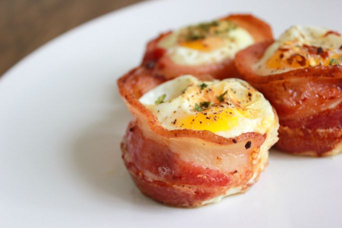 Bacon and egg cupcakes... so easy and gluten free!