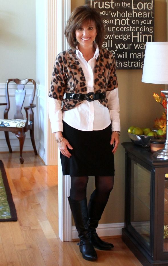 Fashion Over 40-What I Wore. I just need a blouse and I can do this cute outfit!