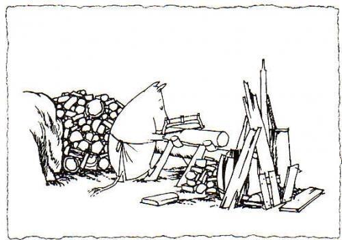 FI-1416857 (B/W Moomin)
