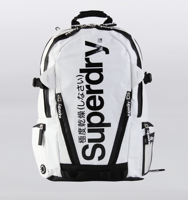 SWOON [Superdry white backpack]
