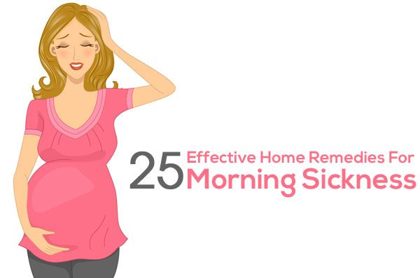 25 Effective Home Remedies For Morning Sickness