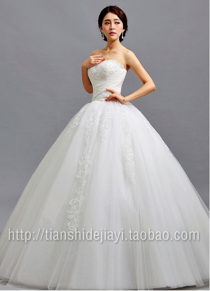 Strapless Accept Waist Lace Wedding Dresses And The Princess Bride Evening New Spring Of
