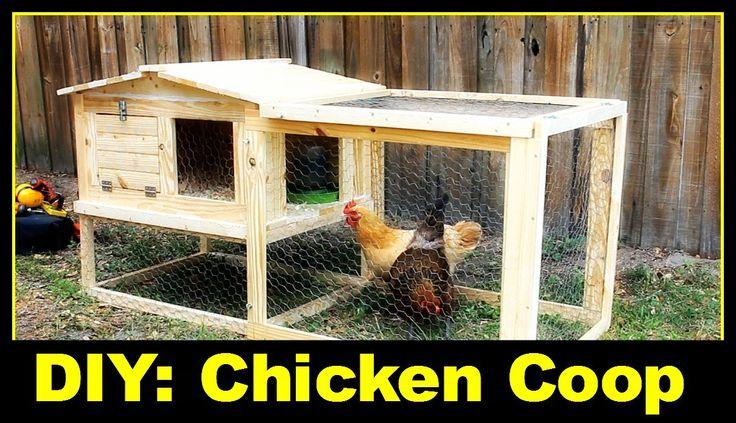 単に簡単なDIY:DIY:小さな裏庭の鶏小屋