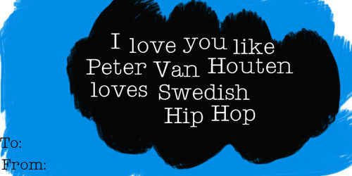 """This Amsterdamn accurate valentine: 