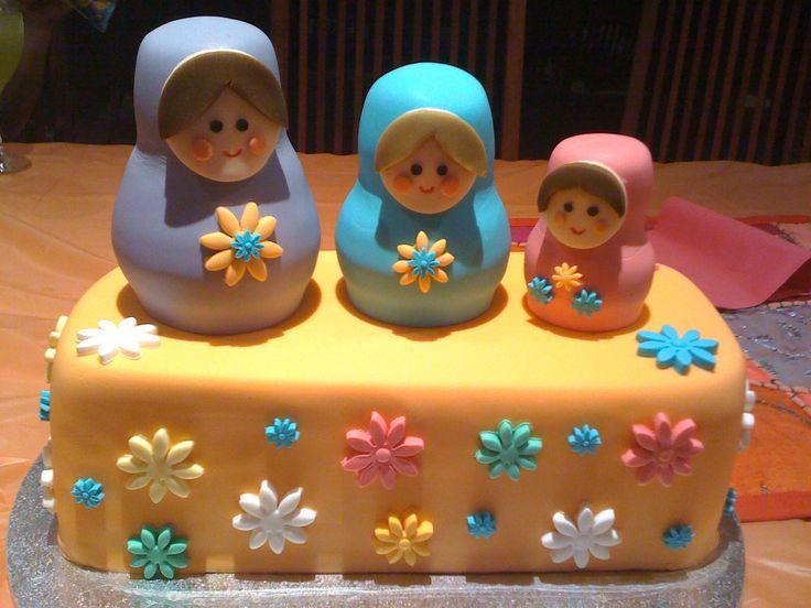 Babushka Doll Cake