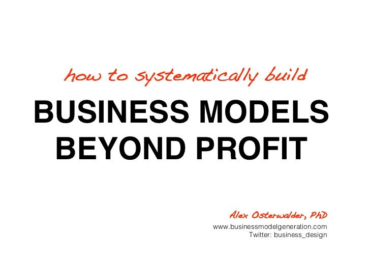 BMC on Social Enterprise
