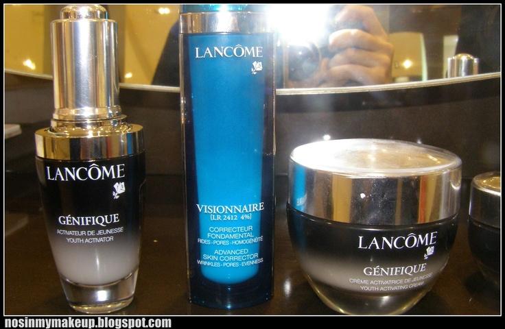 NOSINMYMAKEUP: Un recorrido cosmético por Lancôme en El Corte Inglés