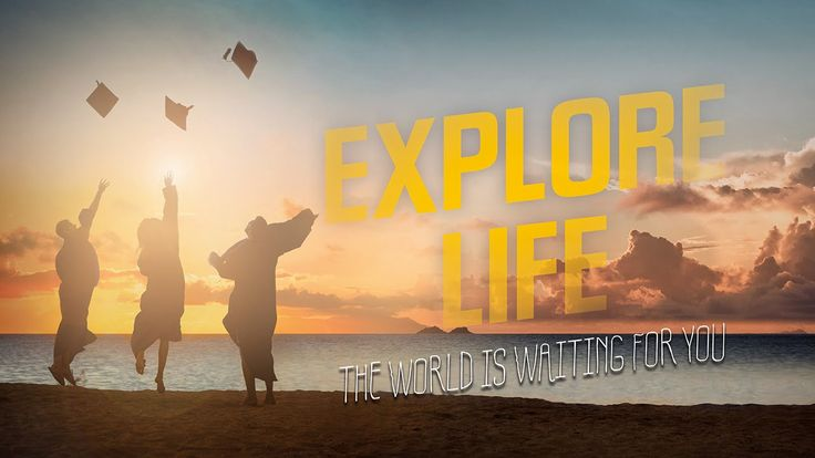 Explore life with KILROY - Study abroad and grow as a person - There is something out there that will define you! #kilroy #study #adventure