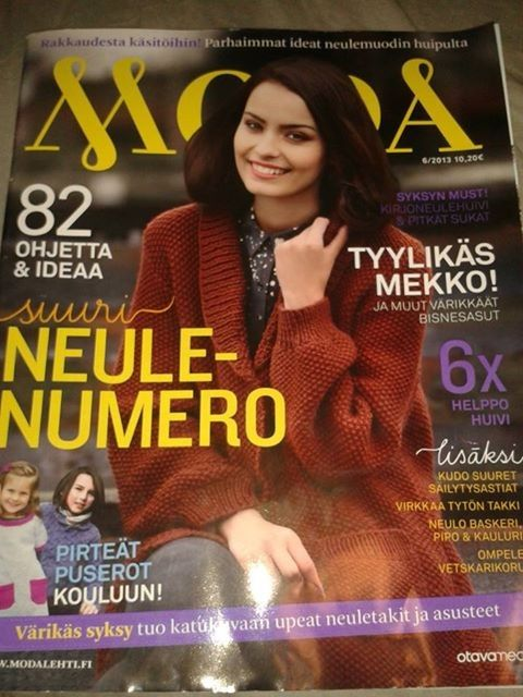 Moda -lehden numero 6/2013 Johannalta (Yllätä ystäväsi: HYIS! heinäkuu 2013)