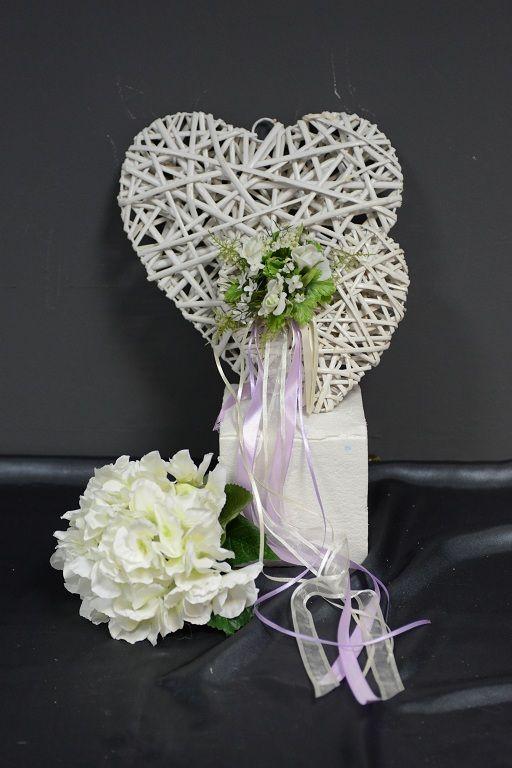 καρδια ψαθινη - aadecorations