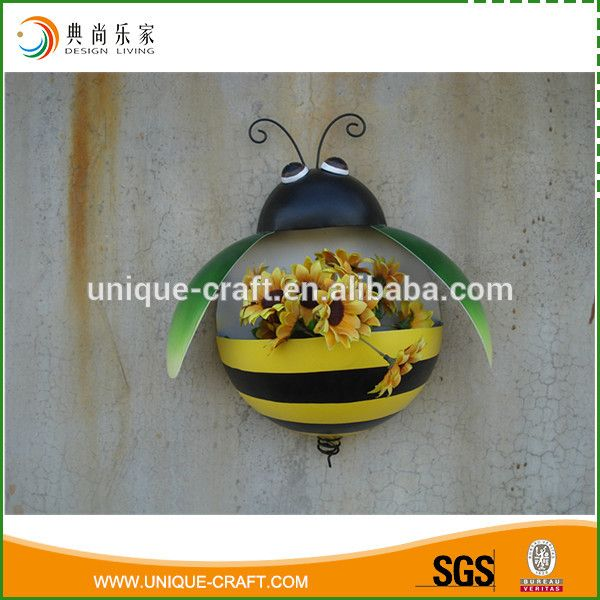 2016 Metal Owl Wall Flower Planter For Garden Decoration - Buy Metal Flower Pots,Wall Planters,Metal Pots Product on Alibaba.com