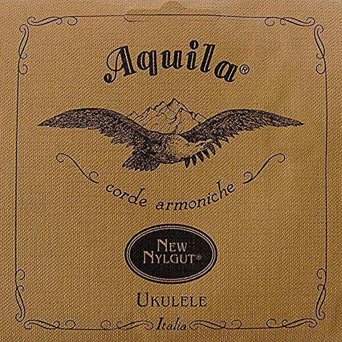 Aquila New Nylgut AQ-4 Soprano Ukulele Strings - High G - Set of 4