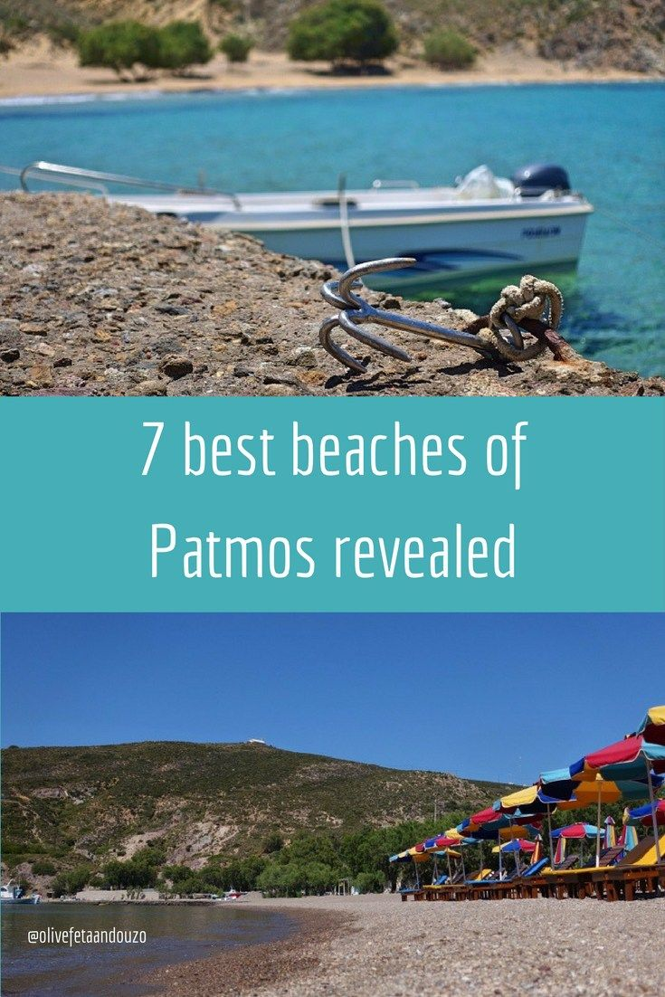 The 7 best beaches of Patmos revealed
