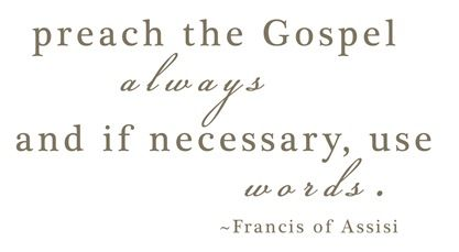 .: Life Motto, Remember This, St Francis, Christian Action, Be A Christian, Favorite Quotes, Francis Quotes, Living, Gospel Quotes