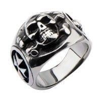Silver Stainless Steel Three Sided Danger Skull Ring by Inox Jewelry now available in India. #fashion #men #jewelry #jewellery #skulls #goth #statement #tough #biker #mensfashion #mensaccessories #giftsformen #giftideas Buy Now at: http://bit.ly/1WT17Op Please Check Website for Extra Discounts