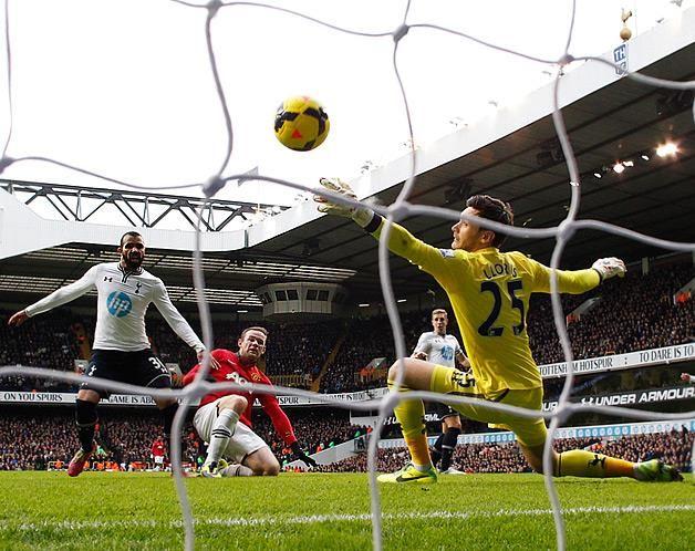 1 de dezembro: Rooney empata em White Hart Lane
