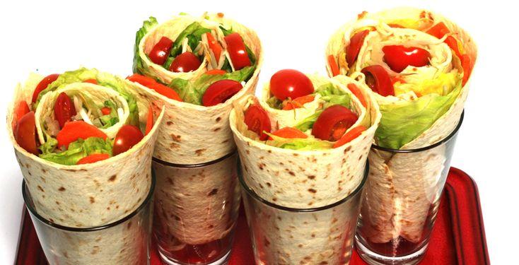 Wraps - bunt und gesund - Rezept-Tipp - Die TK stellt zwei Rezepte für Wrap-Teige und eine mögliche Variante für die Füllung vor.