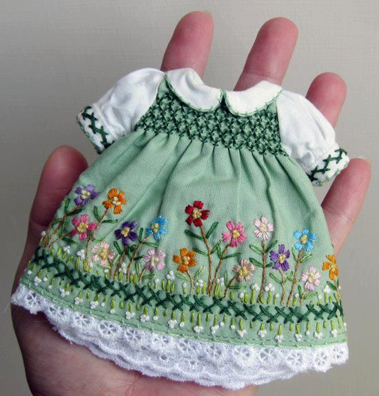 Oh my! How precious!..N.Taylor: The sad thing is when I worked in Neo Natal at Arnold Palmer Hospital in Orlando, I saw babies weighing a little over 400 grams who were small enough to wear this but it would tear their skin if you touched them!