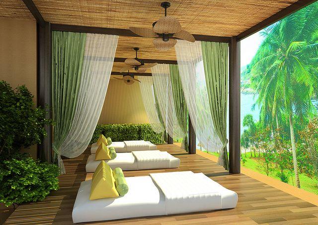 Thai Massage Area by Prana Resorts, via Flickr