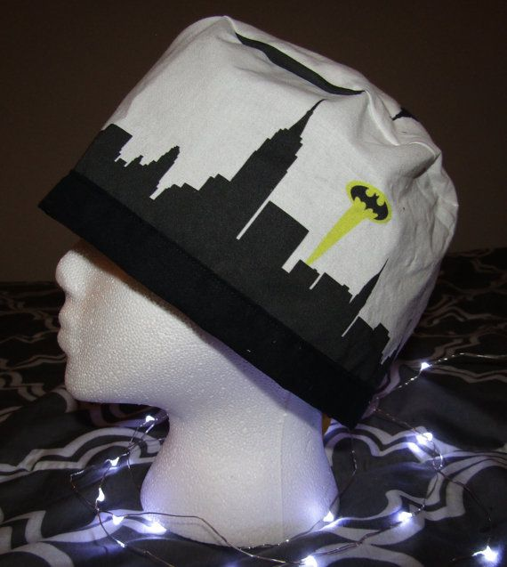 Superhero Batman over the Big Apple  Unisex by TheMadScrubCapper