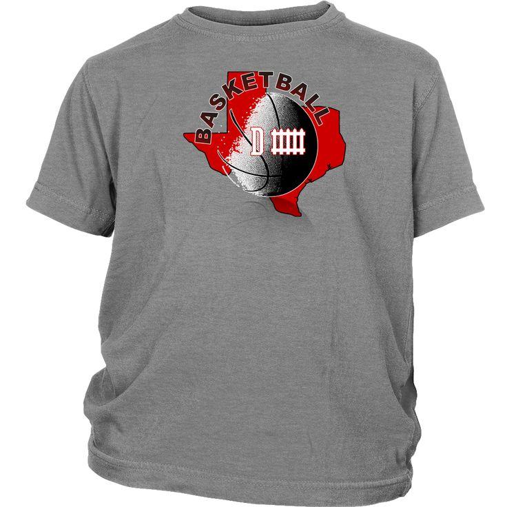 Texas Tech Basketball Defense Youth T-Shirt