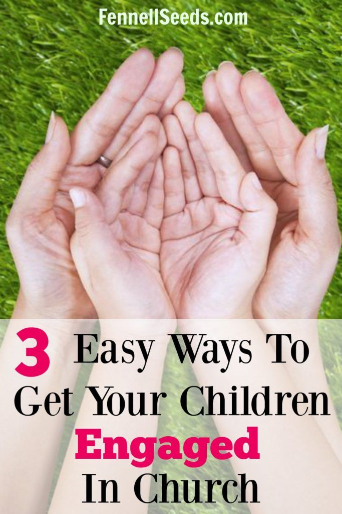 Want to get your children engaged in church? Here are 3 ways to help your kids…