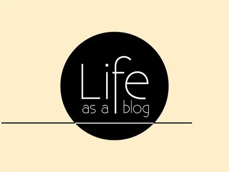 life as a blog