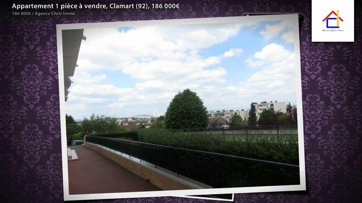 """Corby-Galvents.~~A 9 mn à pied du Centre de Clamart, de la Mairie et de tous les commerces. Dans une des plus belles copropriété de Clamart construite en 1975, """"Le Square de Fontenay"""", avec un jeune couple de gardiens dynamiques. Studio de 27 m², refait à neuf avec goût, situé en rez-de-chaussée surélevé permettant une vue sur verdure et sur Paris Tour Eiffel.~Entrée avec placard intégré, séjour de 23 m² avec rangements intégrés de qualité comprenant notamment un lit escamotable de 140x200…"""