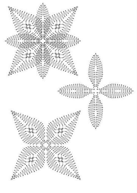 flores bolillos patrones - Buscar con Google