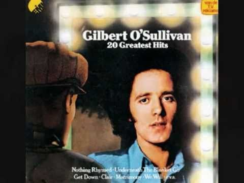 GILBERT O`SULLIVAN tells the TRUE story of ALONE AGAIN ( Naturally ) Interview with a rare live performance at the end.