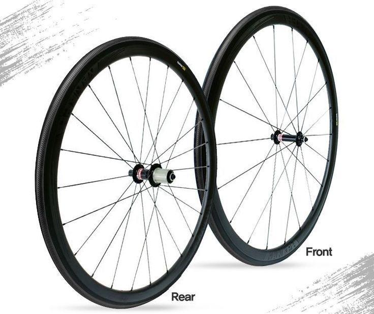 Get2Get Kanaph 38mm Clincher Wheelset Black Line Wheelset #Kanaph