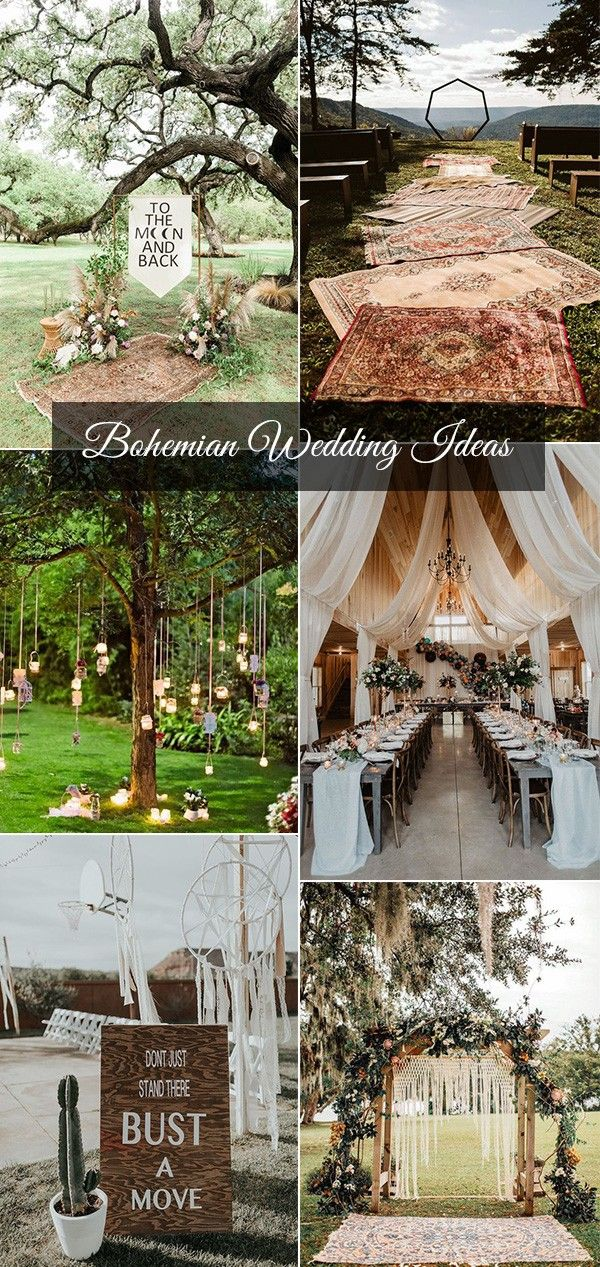 20 Bohemian Wedding Decoration Ideas To Inspire Your Big Day
