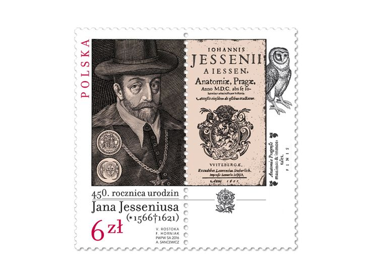 COLLECTORZPEDIA 450th Anniversary - Jan Jessenius 1566-1621. Czech-Hungarian-Polish-Slovak Joint Stamp Issue