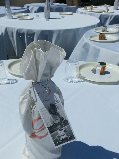 Great idea for table number: use photos of the couple at the age reflected in the number. #inkspot photography wedding @elise G